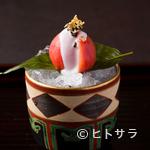 口福よこ山 - 熊本水島の塩トマトを使った美しい『先付』