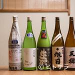 ら すとらあだ - 肴を引き立てる純米酒のほか、さまざまな要望に沿う日本酒も
