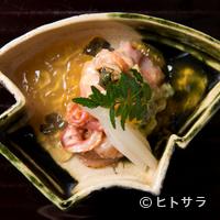 口福よこ山 - 赤貝の旨味を引き出す丁寧な下拵え『京都九条ねぎと閖上産赤貝のぬた』