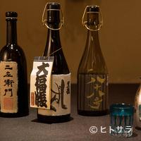 口福よこ山 - 圧巻の『黒龍』ラインナップ。料理のお供はぜひ日本酒を