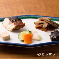 手打ちそば 菊谷 - お任せ酒肴五品盛り(限定十食)