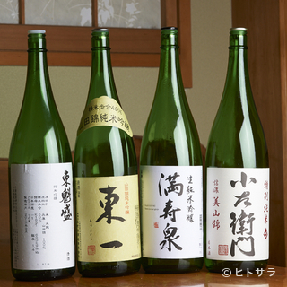 日本酒好きも納得する、蕎麦に合う全国の銘酒をオンリスト