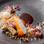 コシモ・プリュス - コクがあり、噛めば噛むほど味わい深い『ホロホロ鶏のロースト』