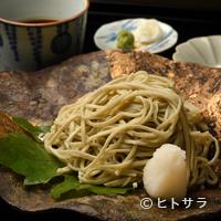 祇園もりわき - 豊かな風味と喉越しのよさが際立つ『自家製手打ち蕎麦』