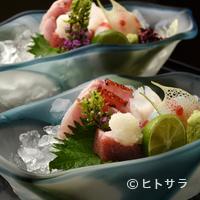 祇園もりわき - 魚介類は天然物にこだわり、旬の鮮魚を市場から厳選仕入れ