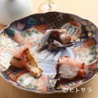 鮨 ほしやま - 人気のネタを集めた一皿。一品ずつじっくり味わいたい『3点盛』
