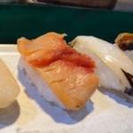 信幸寿司 - 料理写真:◆貝づくし(4貫:1500円:税込)