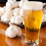 にんにくや - 香ばしい薫りを纏った大人の味『ガーリック生ビール』