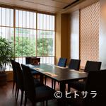 うなぎ藤田 - 組子細工も美しい、心和む個室はあらゆるシーンで利用が可能