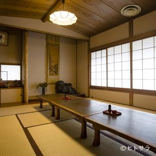 昔ながらの日本家屋の温かさが伝わる3つの個室