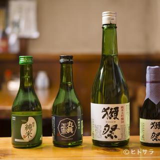 多彩な銘柄の日本酒飲み切りボトルをラインナップ