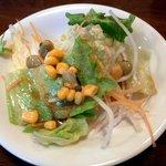 レストラン カミーノ - ランチで付いてくるサラダ