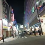 ひょうたん寿司 - 店前