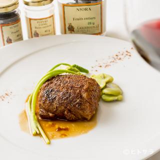 フランス・ブルターニュの三ツ星レストランの味が堪能できます