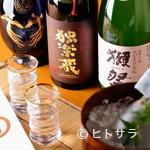 温味 - こだわりの純米系日本酒は奥様がセレクト