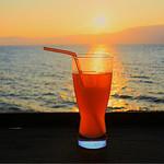 シャーレ水ヶ浜 - オレンジスカッシュ