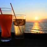 シャーレ水ヶ浜 - レモンスカッシュ&オレンジスカッシュ