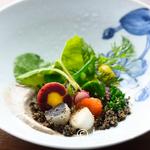 エルバ ダ ナカヒガシ - 料理写真:一つひとつの野菜が主張しつつも豊かなハーモニーを奏でる『ピンツィモニオ 〜Pinzimonio〜』