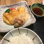 赤坂 ざんまい - 岩手あべどりの唐揚定食