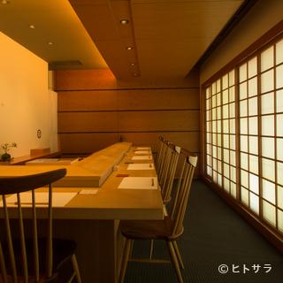 日本の様式美を備えた空間で、江戸の粋を贅沢に味わう