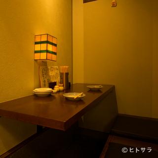 カップルシートで2名様からの個室利用が可能
