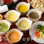 chez MACIO - スイス直輸入エメンタールチーズを使用した「チーズフォンデュ」