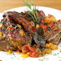 ヴィネリア ラ・チャウ - 食べごたえ満点! さっぱりとした味わいの『ラム肉と夏野菜のブラザード』