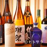 ひつまぶし名古屋備長 - うなぎと一緒に各種お酒を堪能
