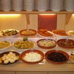 バイキングレストラン 志高 - 野菜料理もいろいろあります!