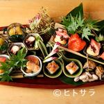 味感 ことほぎ - 四季彩感豊かな旬の味覚を使い、一期一会の楽しさを愛でる一皿