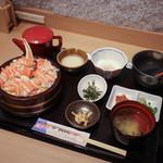 北陸 福井県敦賀港直送 海鮮びすとろ ますよね - かにまぶし 上☆