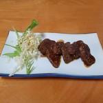八重岳食堂 - 料理写真:「鹿の焼肉」