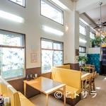ななほし食堂 - 明るく開放的な店内は、店主の人柄も相まってくつろげる
