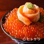 深川つり舟 - 北海道産いくらを贅沢に盛り込んだ『元祖わがまま丼』
