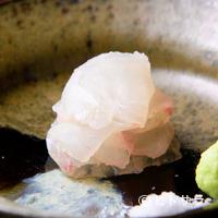 千翠 - 目の前で仕上げて一品ごと供される旬の絶品魚介『お造り』 ヒラメの刺身