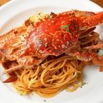国産ワタリ蟹 トマトクリームソース