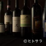 トラットリア フィオーレ - 約80銘柄以上のイタリア産が揃い、季節に合うグラスワインも