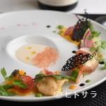 ル レストラン マロニエ - 『旬菜、旬魚介を夏の菜園仕立てにして』