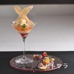 ル レストラン マロニエ - 『和歌山産 白桃のピーチメルバ』