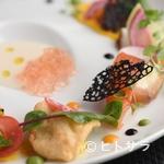ル レストラン マロニエ - 兵庫の漁港に揚がった旬の魚介や四国の有機野菜などを使用