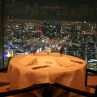35階から眺める最高の夜景