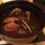 すし空環房 誠瑞 - 赤だし(能古島産の大ぶりなアサリが入ってました!)たぶん具材は日によって違う