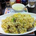 chinese dining KIICHI - 焼豚炒飯 大盛り