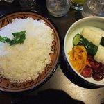 旬菜炭焼 玉河 - 〆はやっぱ雑炊