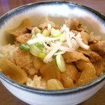 マル寛そばや - 豚味噌漬け焼き丼