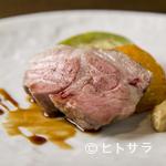 ラクチネッタヤマオカ - 地元奈良のブランド豚の旨味と甘みが堪能できる『五條市泉澤農場ばあく豚と旬野菜のグリルミスト』