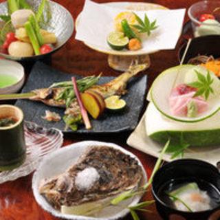 素材からこだわる、創造性が豊かな日本料理