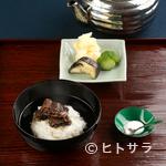 招福樓 - 会席の〆は炊きたてのごはんでつくる『鰻山椒茶漬け』がお膳に