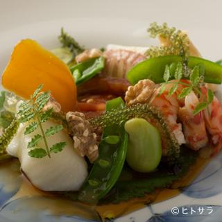 最上の旨さの旬の魚介、野菜、米を求めて、全国から選りすぐり