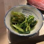 第三春美鮨 - 花山葵菜お浸し マヅマ種 二年生 静岡県御殿場市田代耕一